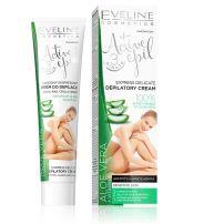 EVELINE АCTIVE ЕPIL Депилаторен -експресен крем с алое 3в1  за чувствителна кожа, 125 мл