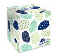 SELPAK Козметични кърпи 3 пласта, 48 бр.