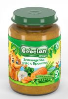 BEBELAN OVKO Пюре зеленчуково асорти, 190 гр