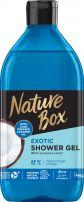 NATURE BOX Душ гел кокос, 385 мл.