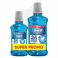 ORAL-B MOUTHWASH PROTECT EXPERT PROFESSIONAL PROTECT Вода за уста, промо пакет, 500мл+250мл.
