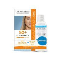 SUNBRELLA Слънцезащитен крем за кожа с напукани капиляри SPF 50+ , 50 мл + Мицеларна вода HYDRAIN3, 100 мл - ПОДАРЪК