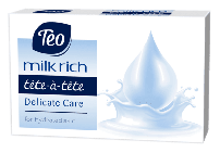 TEO MILK RICH Сапун delicate care, 100 гр.