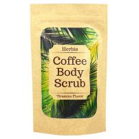 HERBIS Натурален кафе скраб за лице и тяло 200 гр.