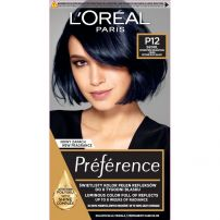 L'OREAL PARIS PREFERENCE Боя за коса P12 Blue black pearl