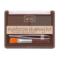 WIBO Комплект за вежди с четка и пинсета 2, 5 г