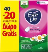 EVERYDAY EXTRA DRY Ежедневни превръзки 40+20 бр.
