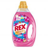 REX GEL ORCHID&MACADAMIA Течен перилен препарат за цветно пране, 20 пранета