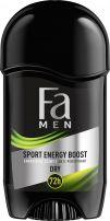 FA MEN SPORT ENERGY BOOST Мъжки део стик, 50 мл.