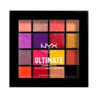 NYX PROFESSIONAL MAKE UP ULTIMATE SHADOW Палитра сенки за очи Festival, 16 цвята