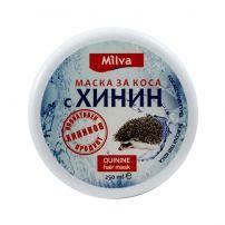 MILVA Маска за коса с хинин, 250мл.