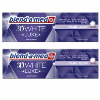 BLEND-A-MED 3D WHITE LUXE PERAL GLOW Паста за зъби, 2х75мл.