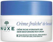 NUXE FRAICHE DE BEAUTE RICHE Хидратиращ 48 часа крем за лице за суха кожа 50 мл.