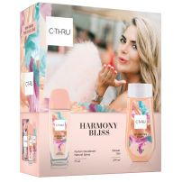 C-THRU HARMONY BLISS Подаръчен комплект Натурален спрей, 75 мл + душ гел, 250 мл