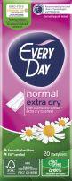 EVERYDAY NORMAL Ежедневни дамски превръзки extra dry, 20 бр.