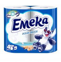 ЕМЕКА SPECIAL AROMA Тоалетна хартия 3 пласта OCEAN BREEZE, 4 бр.