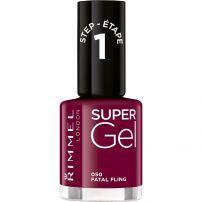 RIMMEL Лак за нокти super gel №050 fatal fling