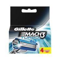 GILLETTE MACH 3 TURBO Резервни ножчета, 3 бр. + про глайд