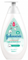 JOHNSON'S BABY COTTONTOUCH Шампоан за коса и тяло, 500 мл.