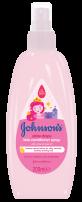 JOHNSON'S BABY SHINY DROPS Детски балсам спрей, 200 мл.