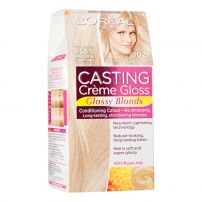 L'OREAL PARIS CASTING CREME GLOSS Боя за коса 1021 Very light pearl blonde