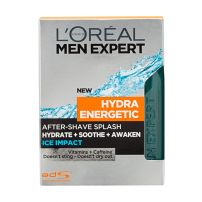 L'OREAL PARIS MEN EXPERT HYDRA ENERGETIC Лосион за след бръснене ICE IMPACT, 150 мл.