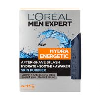 L'OREAL PARIS MEN EXPERT HYDRA ENERGETIC Лосион за след бръснене SKIN PURIFIER, 100 мл.