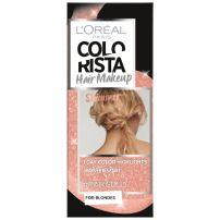L'OREAL PARIS COLORISTA HAIR MAKEUP Краткотрайна боя за коса 26 Pink gold hair