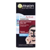 GARNIER SKIN NATURALS PURE ACTIVE CHARCOAL ANTI BLACKHEAD PEEL OFF Маска за лице, 50 мл.