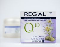 REGAL Q10 ANTI WRINKLE Дневен крем за лице EDELWEISS AND BOABAB, 50 мл.