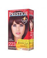 PRESTIGE Боя за коса 223 Тъмен махагон