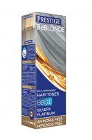 PRESTIGE BE BLONDE Тонер за коса BB01 Silvery platinum
