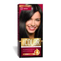 AROMA COLOR Боя за коса 01 Черен, 45 мл.
