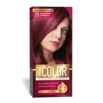 AROMA COLOR Боя за коса 28 Рубинено червено, 45 мл.