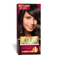 AROMA COLOR Боя за коса 02 Тъмен кестен, 45 мл.