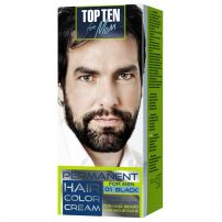 TOP TEN Мъжка боя за коса 01 black