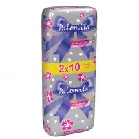 PALOMITA DOUBLE PACK DAY Дамски превръзки THIN AND SOFT, 20 бр.