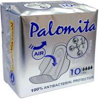 PALOMITA SILVER IONS Дневни дамски превръзки текстил, 10 бр.