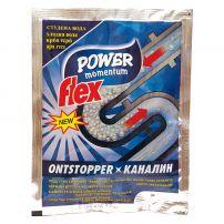FLEX POWER MOMENTUM Препарата за отпушване на канали КАНАЛИН студена вода, 60 гр.