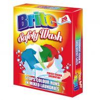 BRITE SAFETY WASH Цветоулавящи кърпички MIXED LAUNDRIES, 20 бр.