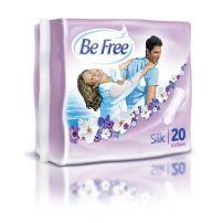 BE FREE SILK Ежедневни индивидуално опаковани превръзки, 20 бр.