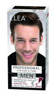 ELEA MEN PROFESSIONAL COLOR & CARE Безамонячна крем боя за коса за мъже 4.0 кафяв.
