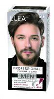 ELEA MEN PROFESSIONAL COLOR & CARE Безамонячна крем боя за коса за мъже 5.0 светло кафяв.