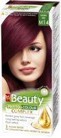 MM BEAUTY PHYTO & COLOUR Боя за коса с маска М14 Вишнево червено