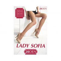 LADY SOFIA Чорапогащи с еластан 20 DEN 3, графит