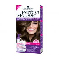 SCHWARZKOPF PERFECT MOUSSE Мус боя за коса 500 Medium brown