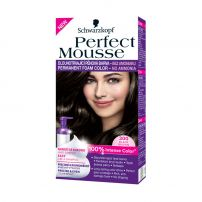SCHWARZKOPF PERFECT MOUSSE Мус боя за коса 300 Black brown