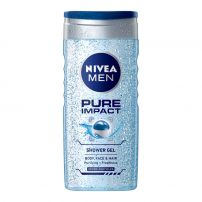 NIVEA MEN PURE IMPACT Душ гел, 250 мл