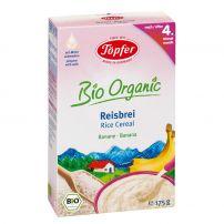 LACTANA BIO безмлечна био каша с ориз и банан от 4+ месеца, 175 гр
