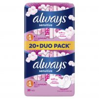 ALWAYS SENSITIVE ULTRA NORMAL DUO PACK Дамски превръзки, 20 бр.